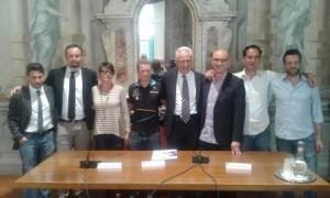 foto conferenza stampa vivilosport