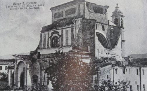 Il terremoto del 1919 in Mugello. Storia e curiosità