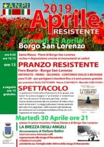 73f3c87dfbdd Come ogni anno la sezione ANPI di Borgo San Lorenzo in occasione del 25  Aprile organizza alcune iniziative, fra cui la commemorazione dei caduti, il  pranzo ...