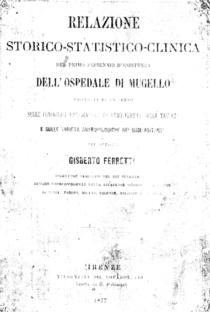 Gisberto Ferretti e la topografia medica di Borgo san Lorenzo (1877-78)