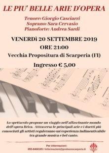 Scarperia : venerdi concerto lirico e domenica Gotica Toscana