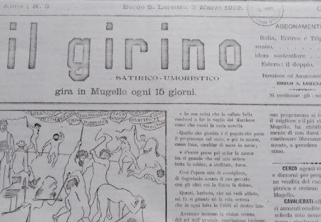 UMORISMO E SATIRA IN MUGELLO (1912-1914) parte prima