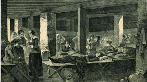 Le epidemie a Borgo san Lorenzo a metà 800.