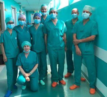 Ospedale di Borgo San Lorenzo : Primo intervento sulle varici con procedura mininvasiva di termoablazione