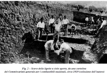 La centrale termo-elettrica di Barberino e le miniere di lignite (1920-24)