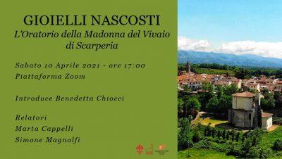 Conferenza sulla Madonna del Vivaio a Scarperia. Istruzioni per partecipare