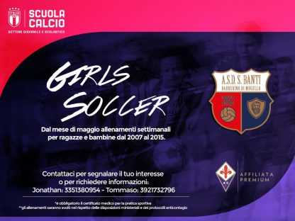 A Barberino parte il progetto Girls Soccer