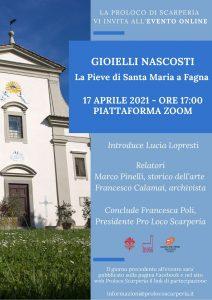 """""""Gioielli nascosti: la Pieve di Santa Maria a Fagna"""": sabato 17 aprile"""