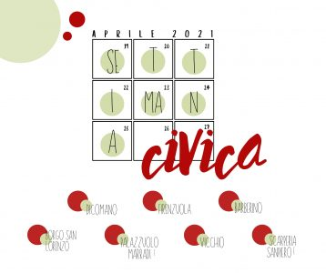 """Settimana Civica """"Noi come cittadini, noi come popolo"""" anche in Mugello"""