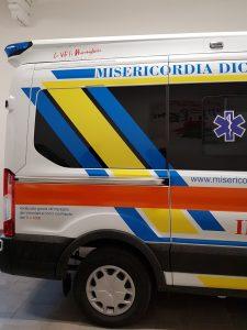 Nuova ambulanza a Dicomano