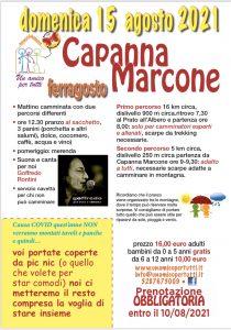 Ferragosto alla Capanna Di Marcone con l'Associazione un amico per tutti
