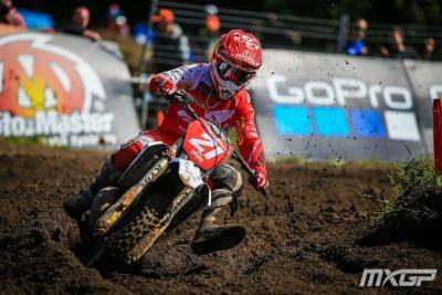 Lapucci consolida il primo posto nell'Europeo di motocross vincendo il GP del Belgio