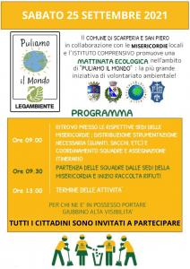 Mattinata ecologica il 25 settembre nel comune di Scarperia e San Piero