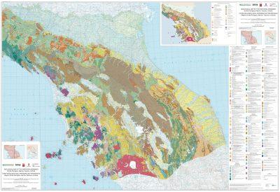 Premiata la Carta Geologica dell'Appennino Settentrionale realizzata da Regione Toscana