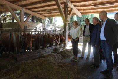 Il commissario europeo all'agricoltura in visita in Mugello